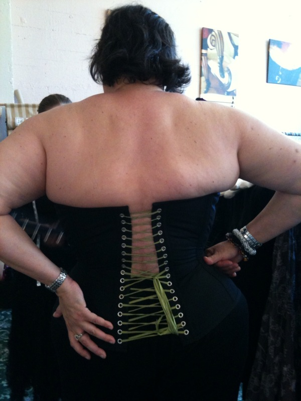 fat girl in a Corsets