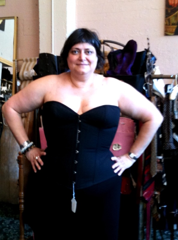 Pictures Of Corset Fitting Fat Feminist Activist Artist