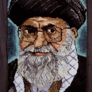 Oelbaum-05-Axis of Evil Rug Iran