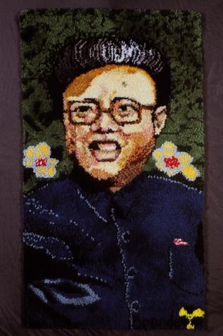 Oelbaum-06-Axis of Evil Rug North Korea