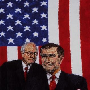 Oelbaum-07-Axis of Evil Rug USA
