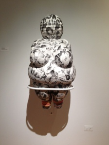 Venus of Fonda installed Koehnline Museum of Art